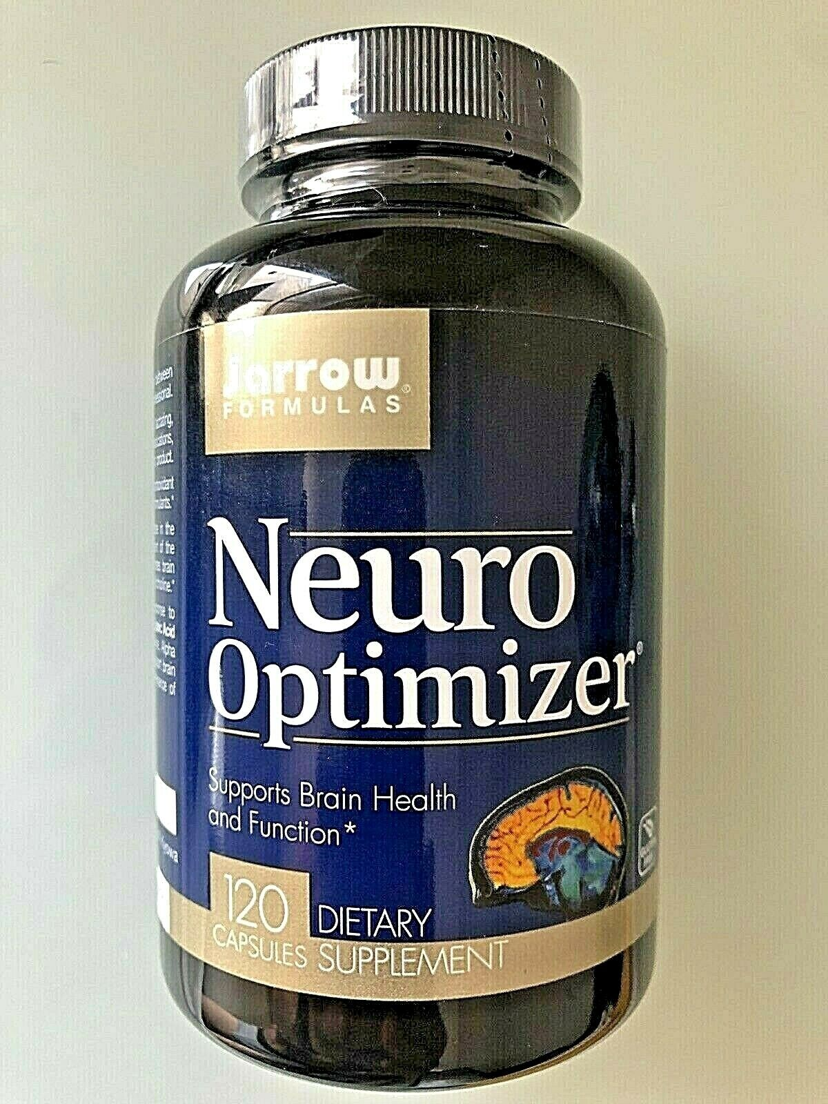 Jarrow Formulas: NEURO OPTIMIZER (120 Ct)   SUPPORTS: BRAIN HEALTH & FUNCTION