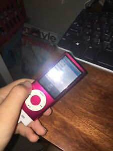 iPod Nano 5th generation 8GB pink