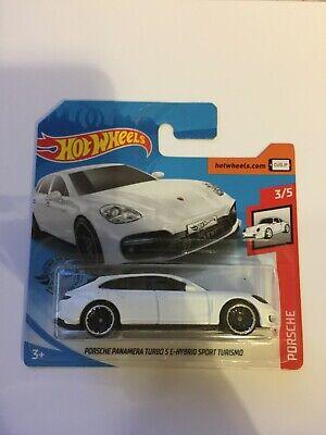 Hot Wheels Porsche Panamera Turbo SE-Hybrid Sport Turismo,2020 Short Card, 3/5