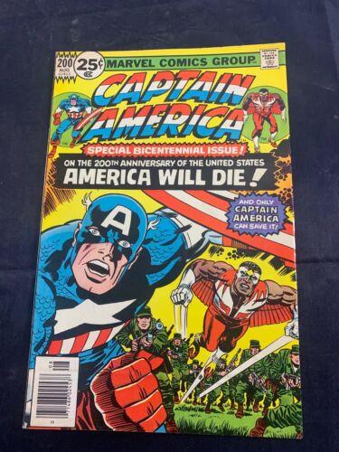 MARVEL COMICS - CAPTAIN AMERICA - ISSUE 200