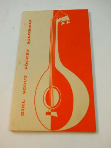 1956 Girl Scout Pocket Songbook no.20-0192