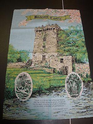 VINTAGE LINEN Blarney Castle Ireland