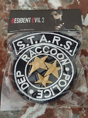 Resident Evil 2 promo patch Stars Raccoon City Police Department Cosplay