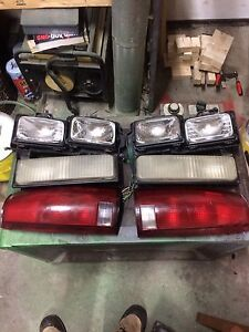 Head, turn signal and tail lights 88-98 gmc
