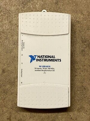 National Instruments Usb-6215 Data Acquisition Card Ni Daq Multifunction
