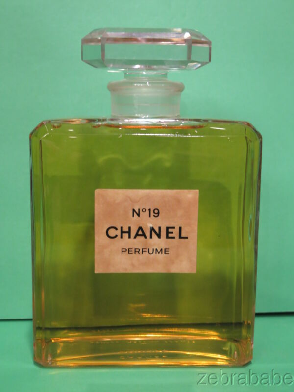 Chanel No 19 Factice Perfume Bottle 8 1/2""