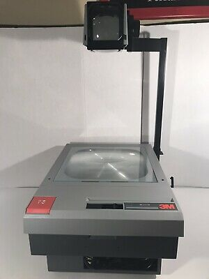 3M 910 Folding Overhead Projector School Presentation  Great Condition