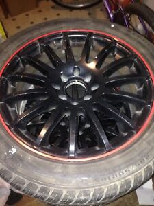 Mags avec pneu 16po