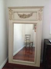BEAUTIFULLY CRAFTED LARGE WALL MIRROR. VINTAGE STYLE. BARGAIN !!! Maroubra Eastern Suburbs Preview