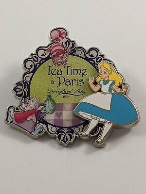 Disney Pin Trading Disneyland Paris DLP Alice In Wonderland Tea Time A Paris Pin