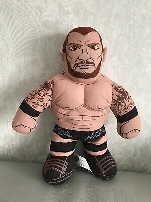 "WWE Brawlin Buddies Wrestling Randy Orton 16"" Talking Plush Soft Toy Mattel"