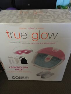 Conair unwind spa pack - foot spa and extras