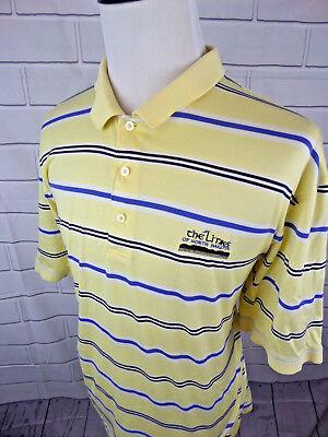 OXFORD GOLF Men's Golf Polo SS Shirt Striped The Links Of North Carolina XXL 2XL Mens Oxford Golf Shirt
