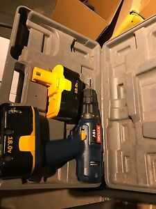Ryobi 2 Speed 18V Cordless Drill + 2 Batteries Hughesdale Monash Area Preview