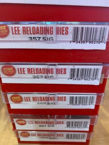 Lee Precision 357 Sig Steel 3 Die Set (90270)