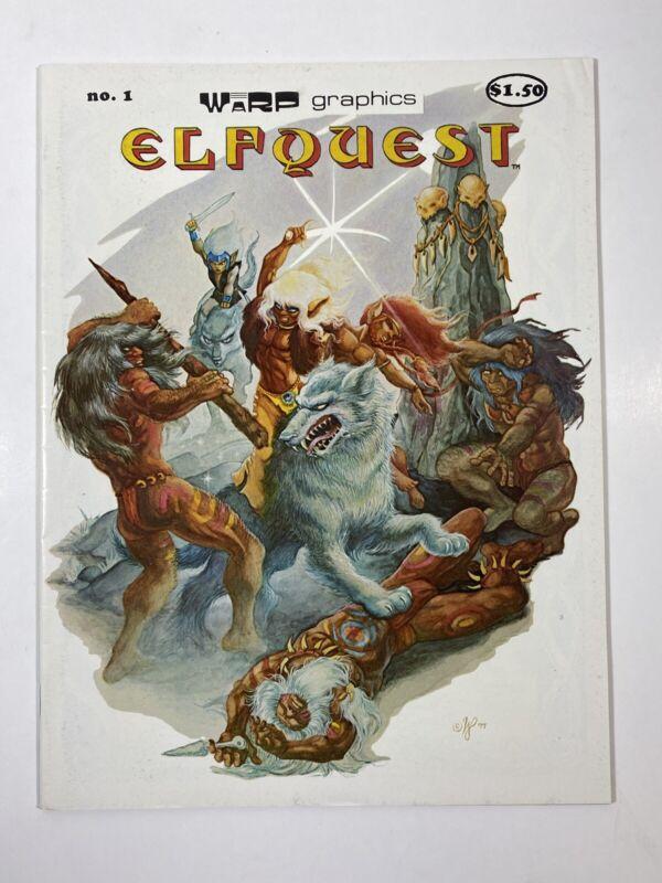 Elfquest #1 (Warp Graphics comic 1978) $1.50 cover price Magazine Size VF-