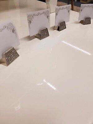 Bling Aulica Place Marker Diamante Table Marker christmas  Idea Set of 4 RRP £25 - Place Settings Ideas