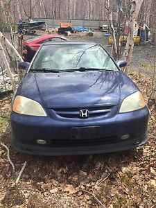 2001 Honda Civic si PARTS CAR