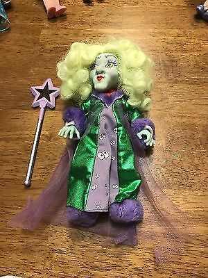 Vintage 1987 Hasbro Moondreamers Evil Scowlene Doll Moon Dreamers W/ Outfit +