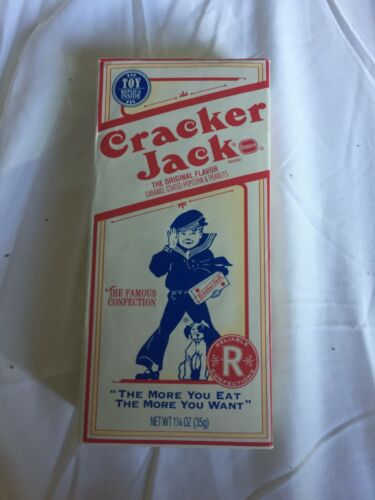 Vintage 1974 Unopened Borden Cracker Jacks Box SEALED