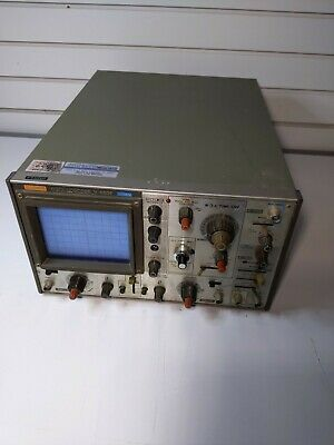Vintage Hitachi Denshi Oscilloscope. V-650fr. Used.