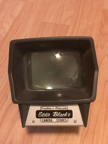 Vintage Retro Slide Viewer Hand Held Eddie Black