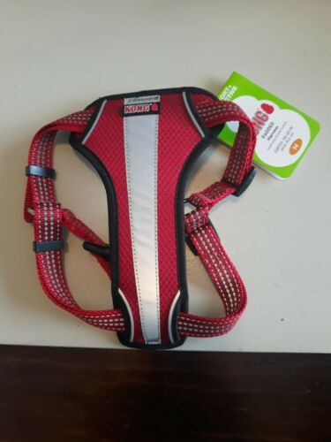NEW KONG WASTE BAG RED REFLECTIVE DOG HARNESS SIZE M  - $26.99