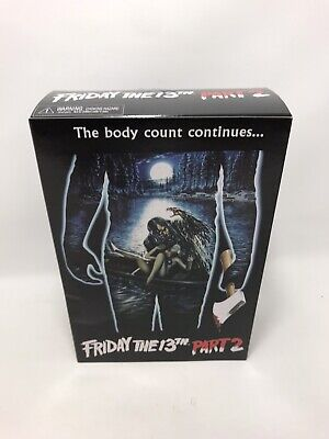 Neca Friday The 13th Part 2 Jason Voorhees (damaged Box) Friday The 13th Jason Voorhees