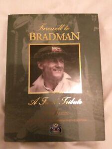 "Farewell to Bradman by Peter Allen  DON BRADMAN.  ""Farewell to Bradma"