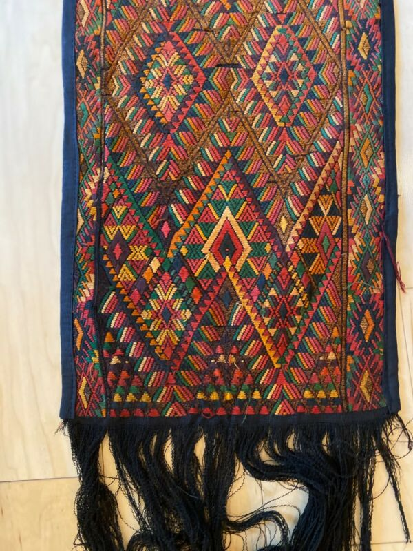 Hand Woven Vintage Guatemalan Tapestry
