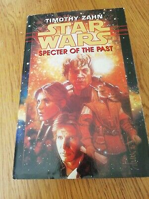 STAR WARS SPECTER OF THE PAST HC TIMOTHY ZAHN 1998 VG