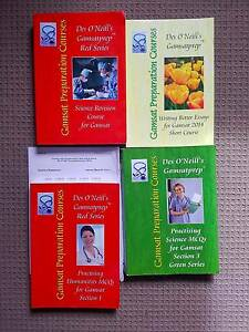 GAMSATtextbooks - all of them plus free biology and chemistry Adelaide CBD Adelaide City Preview