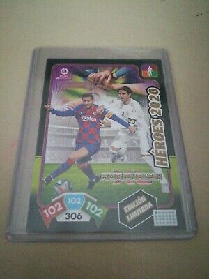 Leo Messi Barcelona Sergio Ramos Real Madrid Panini Adrenalyn Héroes 2020