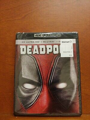 J264 Deadpool Blu-ray Disc, 2016, 2-Disc Set, 4K Ultra HD /Blu-ray/ Digital HD