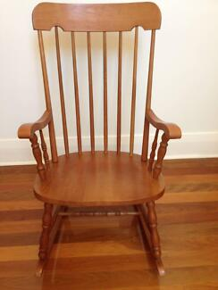 wooden Rocking Chair Hillsdale Botany Bay Area Preview
