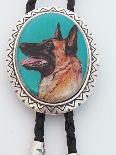 Belgian Malinois Dog Classic Bolo Tie