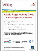Free walking group - All Welcome Acacia Ridge Brisbane South West Preview