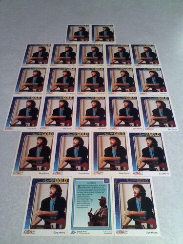 Gary Morris:  Lot of 24 cards