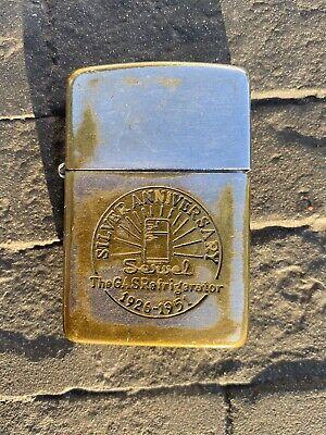 Servel Zippo Lighter 1951 Silver Anniversary