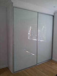Wardrobe Sliding Doors Kits Custom Made, DIY, Opal Frosted Glass Brisbane City Brisbane North West Preview