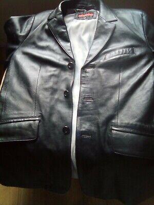 EL Men's Genuine Leather Jacket 99p Only!