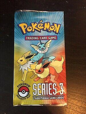pop 3 series pokemon tcg booster pack