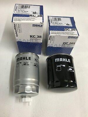 Land Rover 200tdi & 300tdi OEM Fuel & Oil Filter Mahle  AEU2147LM & ERR3340M