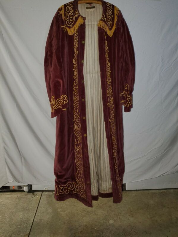 Antique Odd Fellows N.G. Supporter Robe
