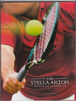 STELLA ARTOIS QUEENS CHAMPIONSHIPS 2006 + ORDER OF PLAY MONDAY & THURSDAY