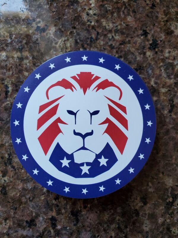TRUMP MAGA LION LOGO MAGNET 🧲 PATRIOT PARTY