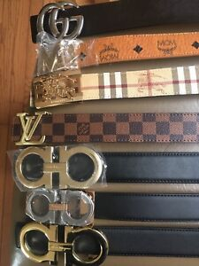 Designer Belts, Wallets and Sidebags