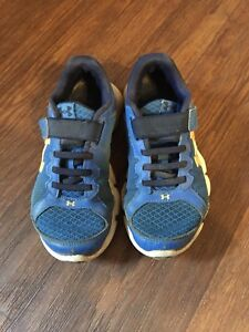 Boys under armour sneakers size 1