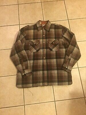 1970s Men's Shirt Styles – Vintage 70s Shirts for Guys Vintage 1970s Heavy Duty Inner Quilt Flannel Button Down Shirt $19.60 AT vintagedancer.com