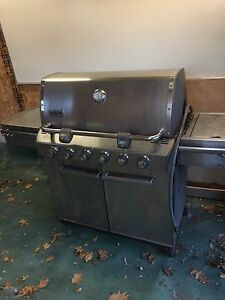 Weber Stainless Steel BBQ